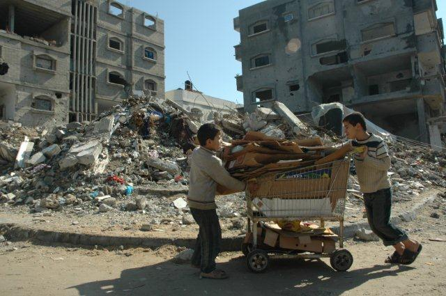 GAZA: LIVING THROUGH A NIGHTMARE